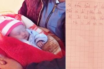 Nghệ An: Bé gái sơ sinh 10 ngày tuổi bị bỏ trên quốc lộ giữa trời rét buốt