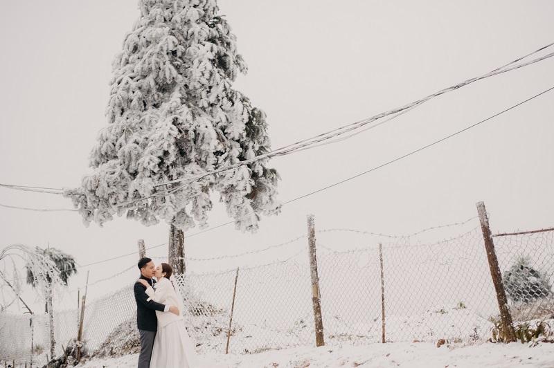Bộ ảnh đẹp,ảnh cưới,tuyết trắng
