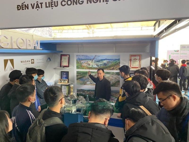Dấu ấn của Masan High-Tech Materials tại triển lãm quốc tế Đổi mới sáng tạo Việt Nam 2021