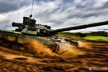 Bộ Quốc phòng Nga nhận lô xe tăng chiến đấu chủ lực T-80BVM mới