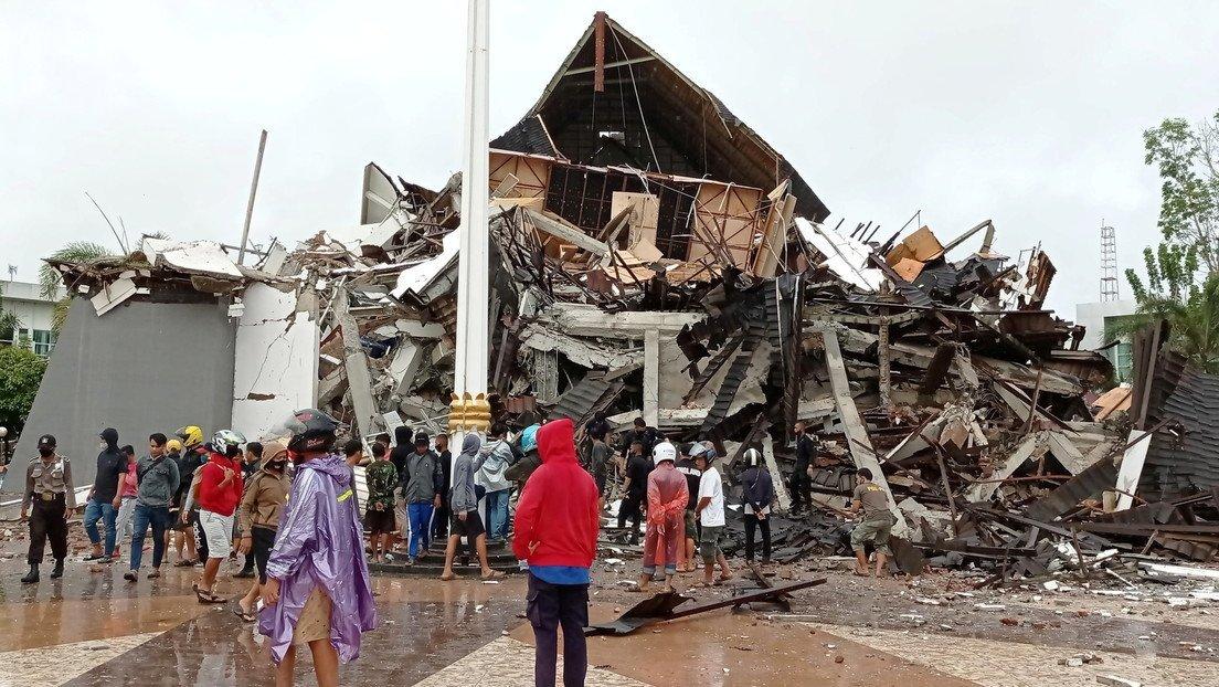 Số nạn nhân thương vong do động đất ở Indonesia tăng lên 34 người