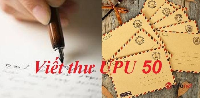 Bài mẫu viết thư UPU lần thứ 50