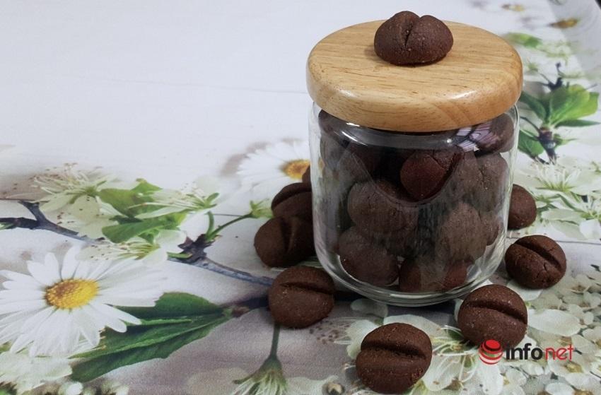 Cách làm bánh quy hạt cà phê 9