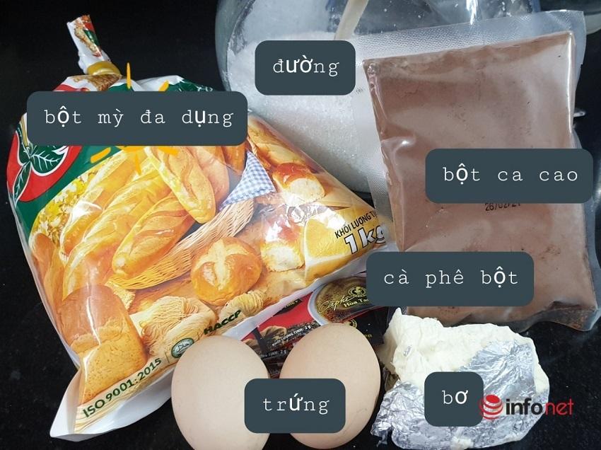 Cách làm bánh quy hạt cà phê 1