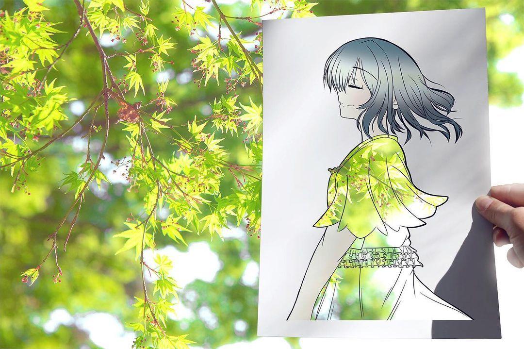 Cách tạo ra bức tranh đặc biệt có một không hai của nghệ sĩ Nhật
