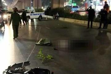 Hà Nội: Tạm giữ thanh niên phóng xe máy tông chết 2 người đi bộ