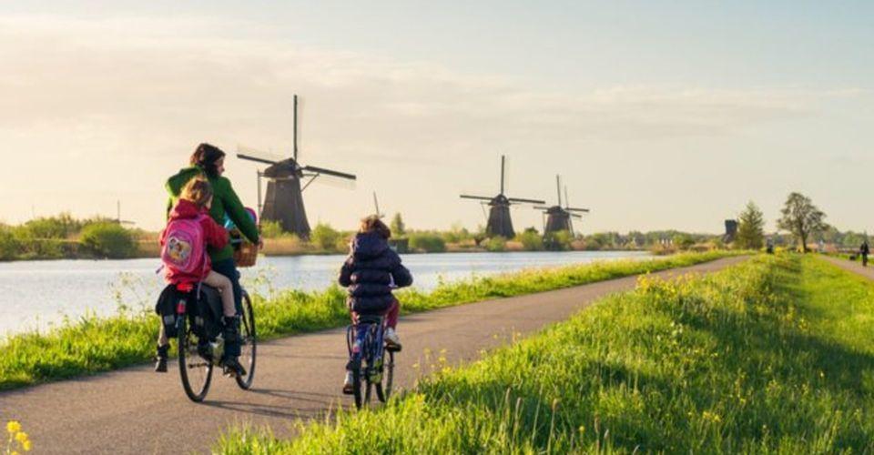 Ba nguyên tắc nuôi con hạnh phúc, cha mẹ thong dong ở Hà Lan