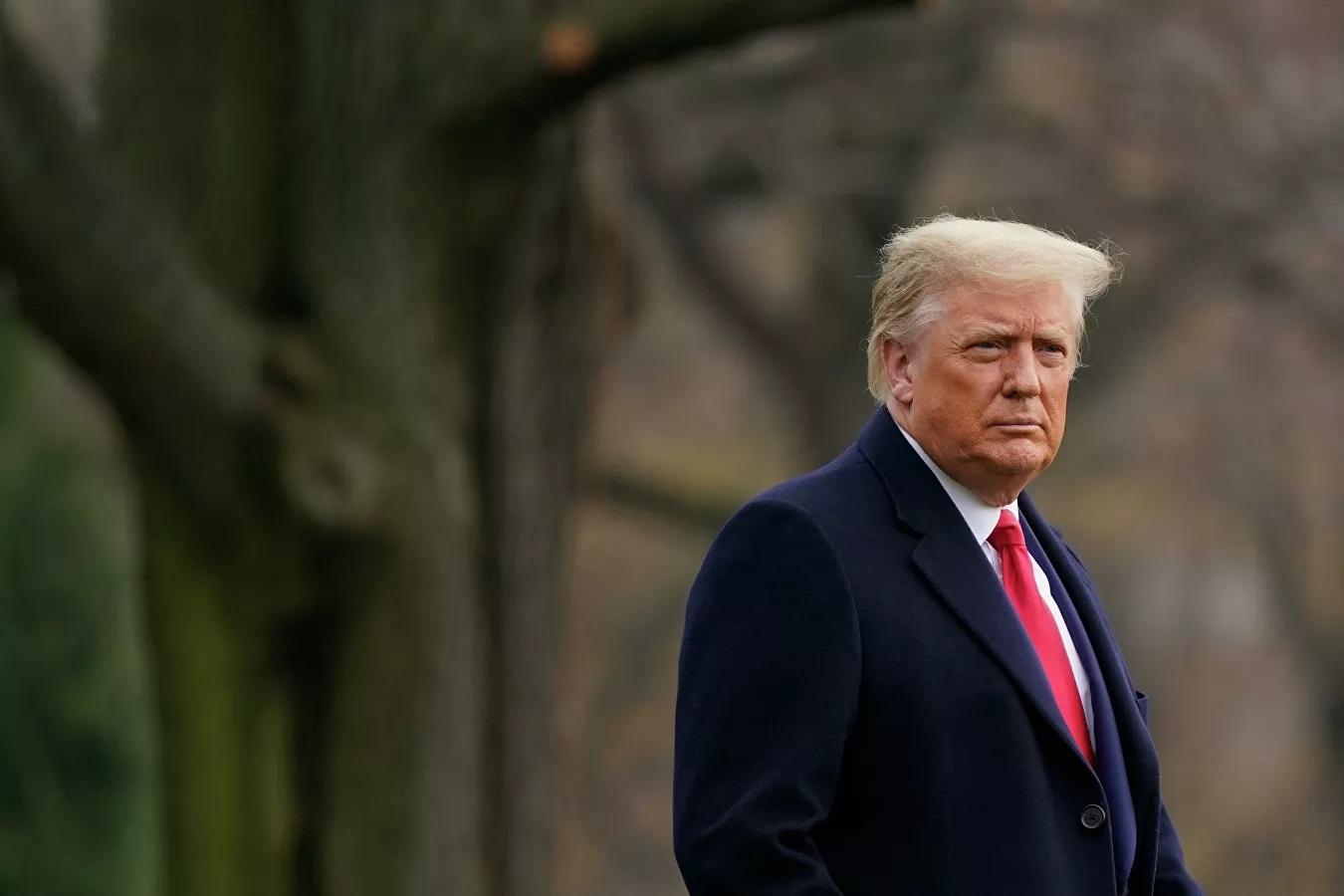 Ông Trump gửi thông điệp chia tay người dân Mỹ