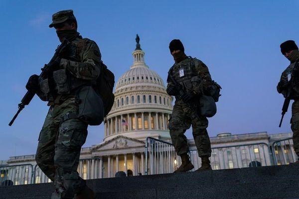 vệ binh,trump,joe biden,nhậm chức