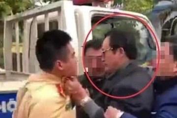 Vụ chi cục trưởng say xỉn thẳng tay tát CSGT: UBND tỉnh Tuyên Quang nói gì?