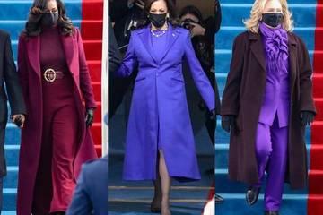 Ý nghĩa trang phục tông màu tím trong lễ nhậm chức của TT Biden