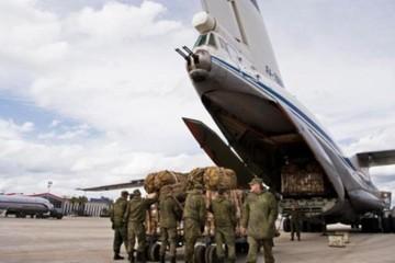Tình hình Syria: 'Ngựa thồ' IL-76 Nga đưa thêm vũ khí đi đối đầu Thổ Nhĩ Kỳ