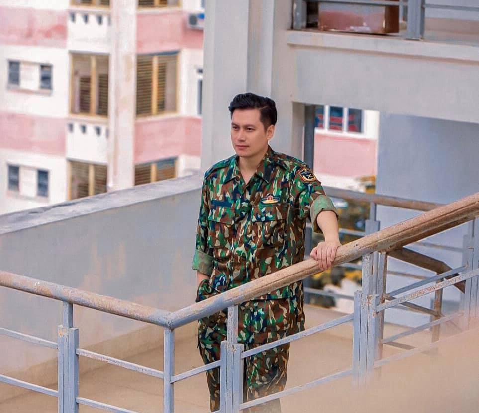 diễn viên Việt Anh,body săn chắc