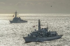 Lần đầu tiên trong năm tàu khu trục Hải quân Mỹ tiến vào Bển Đen