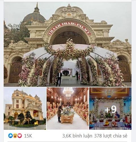 đám cưới khủng ninh bình