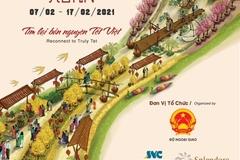 Đường hoa Hom Hanoi Xuan 2021 sắp xuất hiện tại Hà Nội