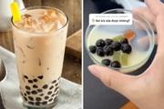 Soi trà sữa vỉa hè dưới kính hiển vi, TikToker nhận về 7 triệu view trong ngày, ngàn người sợ hãi không dám uống
