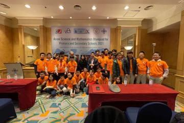 Olympic Toán và Khoa học Châu Á - Việt Nam giành 10 giải