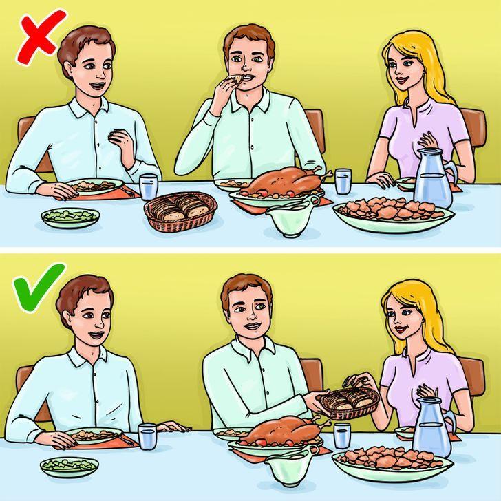 quy tắc lịch sự 6