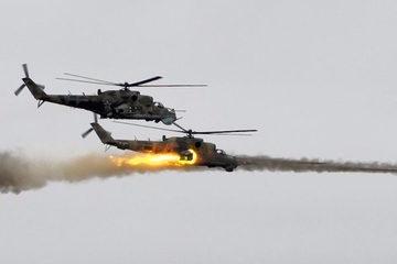 Tình hình Syria: Xem trực thăng Nga truy sát tới cùng khủng bố ở Syria