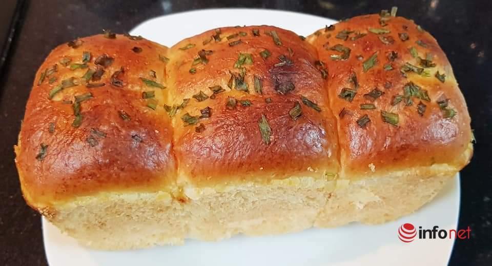 Bí quyết làm bánh mì bơ sữa thơm mềm nhất