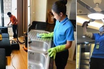 """Dịch vụ dọn nhà """"hốt bạc"""" ngày cận Tết, công ty chốt lịch trước cả tuần, khách gọi muộn bị từ chối"""
