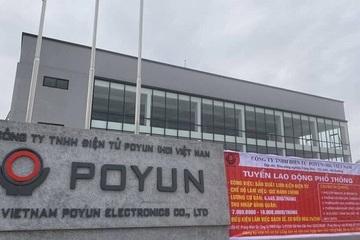Ổ dịch ở Hải Dương, Công ty điện tử PoYun của ông chủ nào?