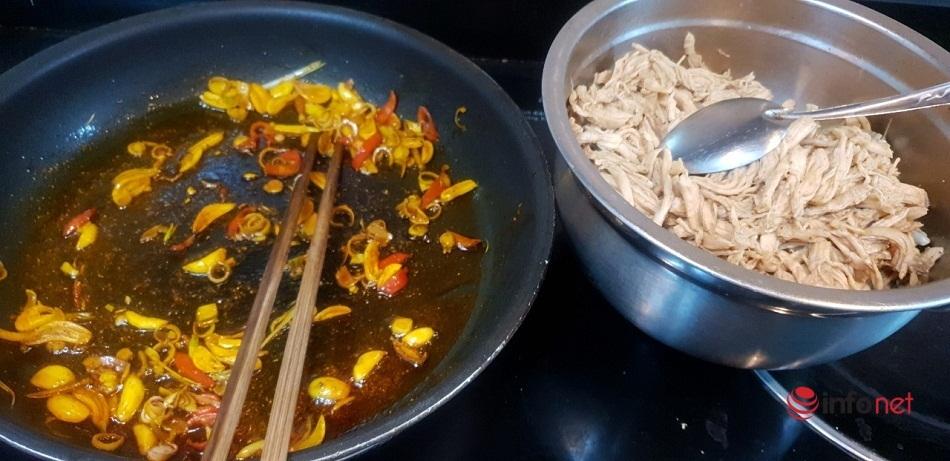 7 bước làm khô gà lá chanh đơn giản nhất tại nhà để nhâm nhi vào dịp Tết