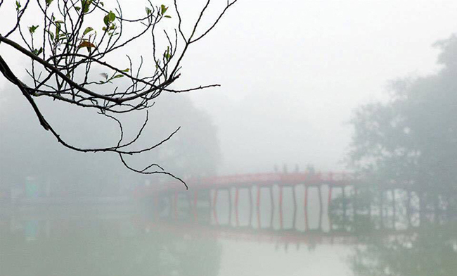 Đông Bắc Bộ mưa phùn, trời rét, nhiệt độ thấp nhất 15 độ C