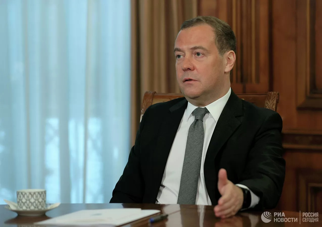 Ông Medvedev lên tiếng về việc ông Trump bị chặn trên mạng xã hội