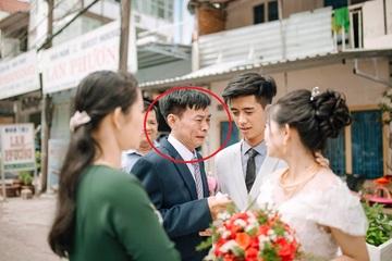 Thứ hiếm hoi nhất cuộc đời người bố xuất hiện trong đám cưới con gái