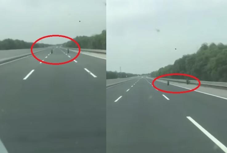Đôi lốp xe 'ma quái' trên cao tốc Hà Nội-Hải Phòng: 100% người xem clip kinh ngạc muốn hỏi 'tại sao?'