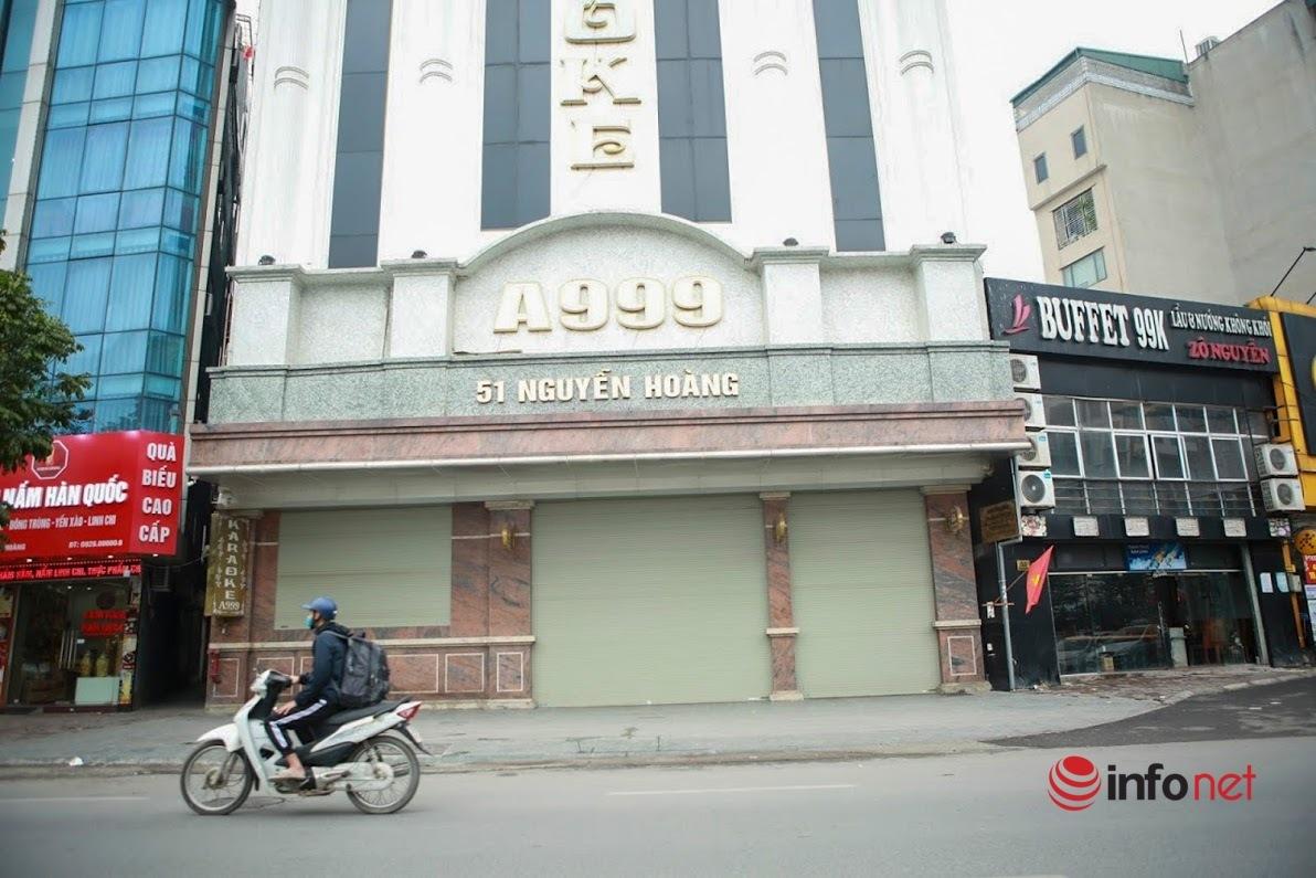 Hà Nội: Nhà hàng quán nhậu vắng khách, đóng cửa để phòng chống dịch Covid-19