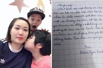 Bức thư con gái gửi mẹ là điều dưỡng tại tâm dịch Chí Linh