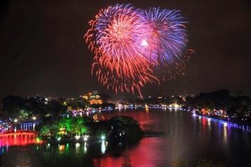 Hà Nội không bắn pháo hoa tại 30 quận, huyện đêm giao thừa