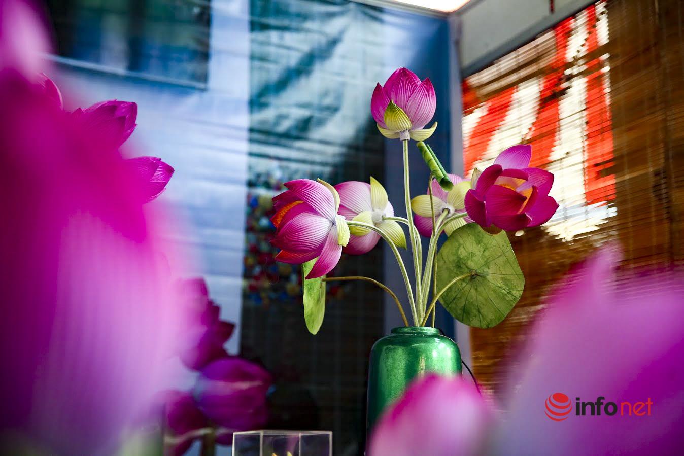 Rực rỡ sắc hoa giấy Thanh Tiên xứ Huế