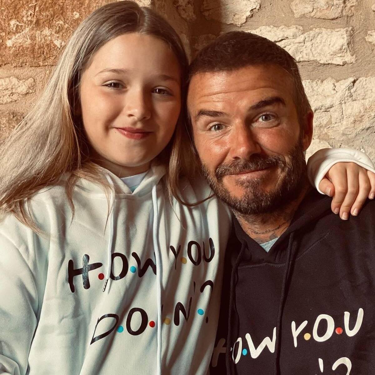 Thư tay nắn nót của 'công chúa' nhà David Beckham gợi nhắc về bài học dạy con nói lời yêu thương