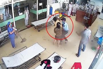 Quảng Nam: Bệnh nhân hành hung bác sĩ vì bị nhắc đeo khẩu trang