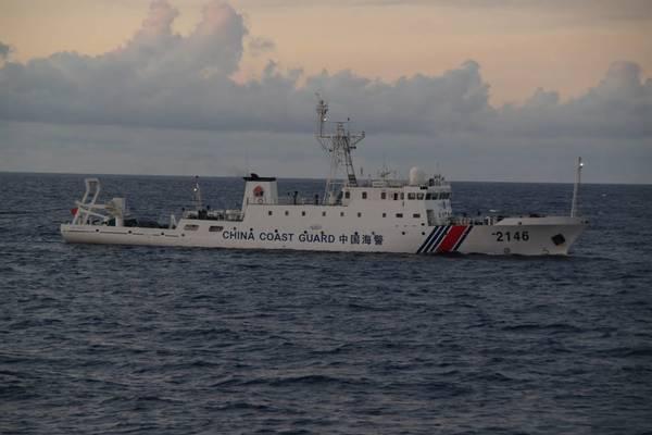 Tàu hải cảnh Trung Quốc mang theo vũ khí lại gần khu vực tranh chấp với Nhật Bản
