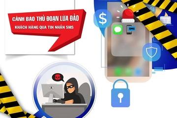 """""""Chúng tôi phát hiện tài khoản của bạn đang tiêu dùng ở nước ngoài""""- tin nhắn lừa đảo ngày càng tinh vi"""