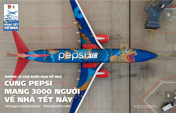 Tết này nói là làm, Pepsi thực sự hành động mang Tết về nhà!