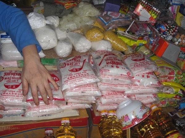 Thị trường miền Trung: Nhan nhản bột ngọt 'ba không' dịp cận Tết