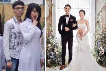 Chàng trai Lạng Sơn cưới tình đầu sau 9 năm yêu