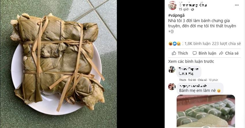 Những siêu phẩm bánh chưng 'phiên bản lỗi' khiến cư dân mạng cười rớt hàm