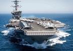 Mỹ huy động cùng lúc 2 nhóm tác chiến tàu sân bay tập trận ở Biển Đông