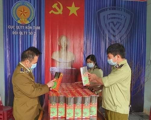 Thu giữ hàng trăm chai rượu giả thương hiệu sâm Ngọc Linh ở Kon Tum và Quảng Nam