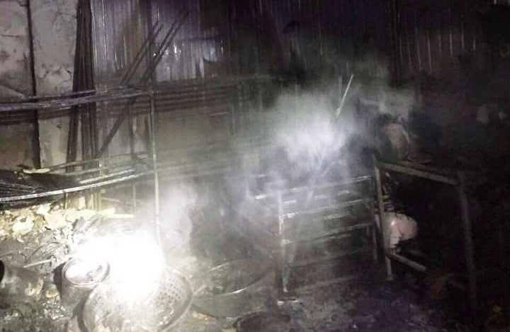 Nghệ An: Cháy cửa hàng tạp hóa đêm 28 Tết, 2 người may mắn thoát nạn