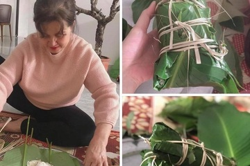 Mẹ chồng 30 năm làm dâu mới gói bánh lần đầu, hành động của con dâu khiến cộng đồng mạng rưng rưng xúc động
