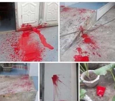 Đắk Lắk: Nhà nguyên Trưởng phòng giáo dục huyện Krông Pắk bị tạt sơn ngày mùng Một Tết