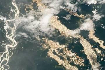 Hình ảnh đáng kinh ngạc về 'những con sông vàng' ở Peru